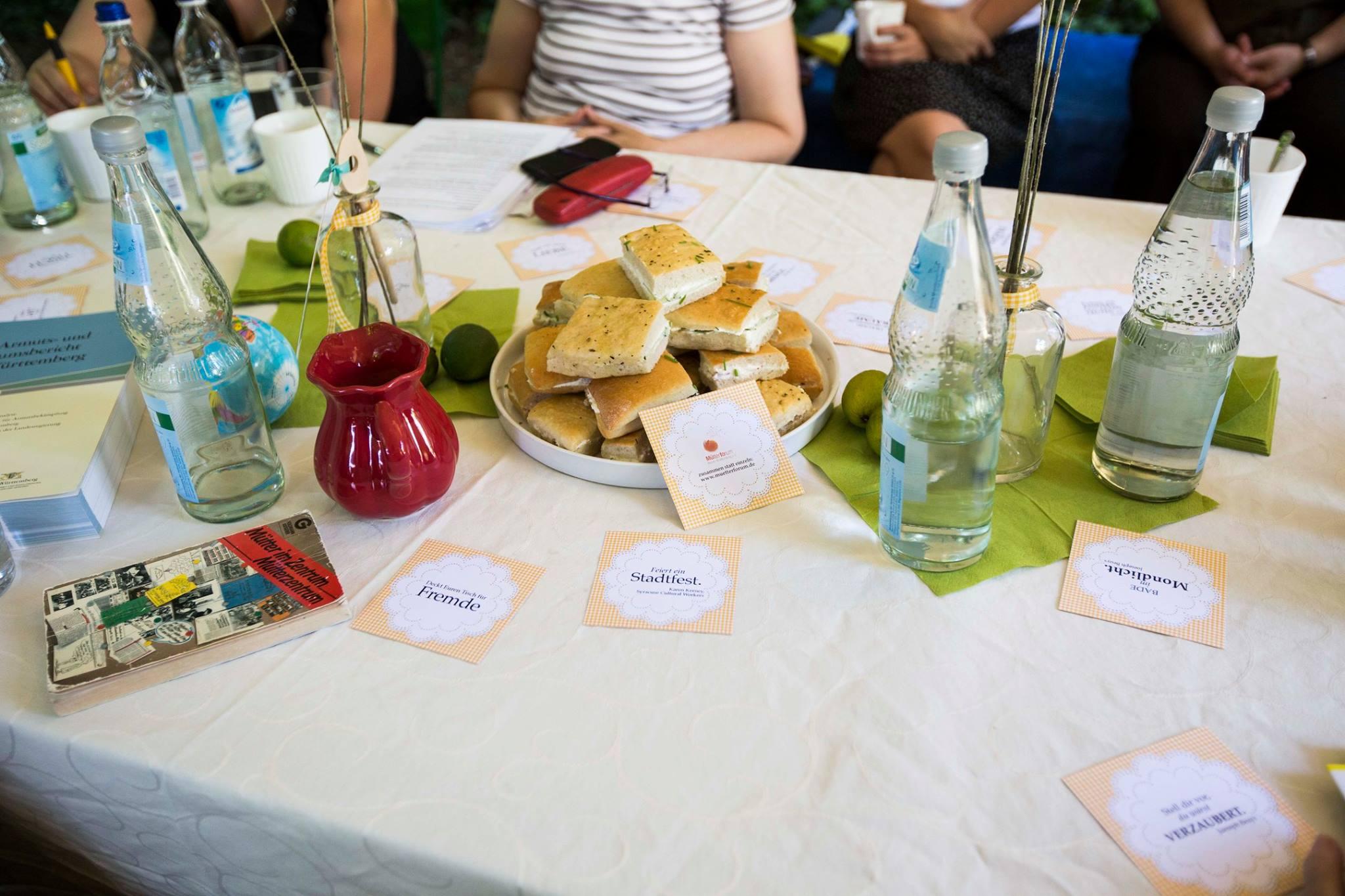 Projekt Ein Gedeckter Tisch
